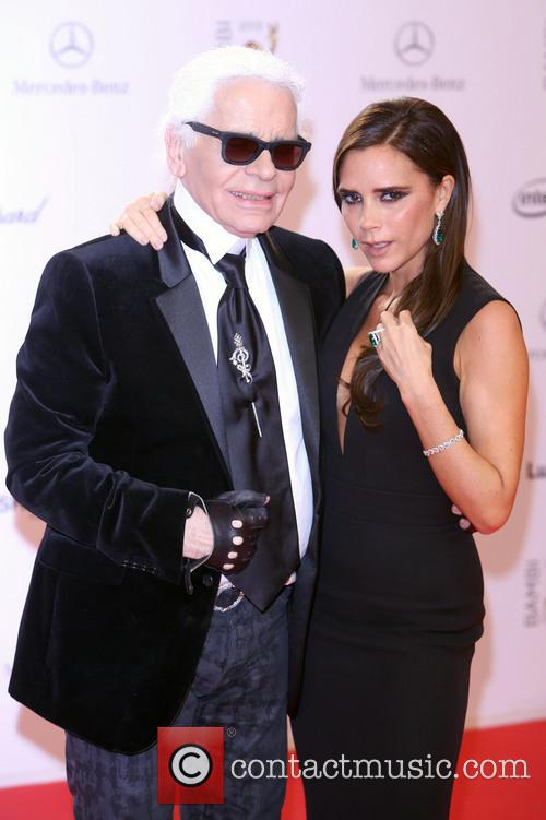 Karl Lagerfeld and Victoria Beckham 20