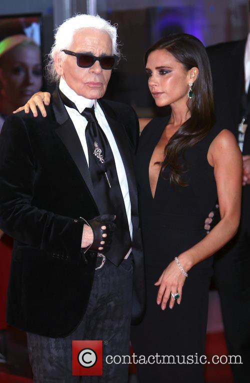 Karl Lagerfeld and Victoria Beckham 21