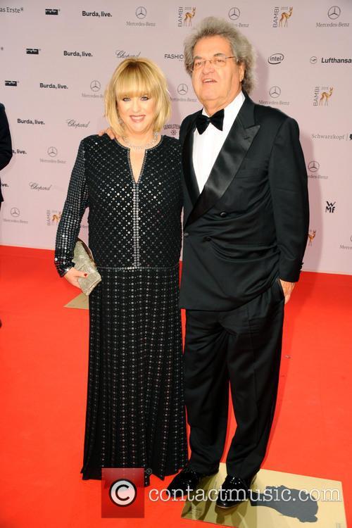 Patricia Riekel and Helmut Markwort 1