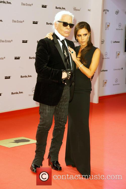 Karl Lagerfeld and Victoria Beckham 6