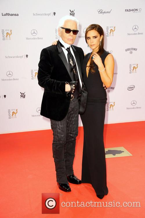 Karl Lagerfeld and Victoria Beckham 8