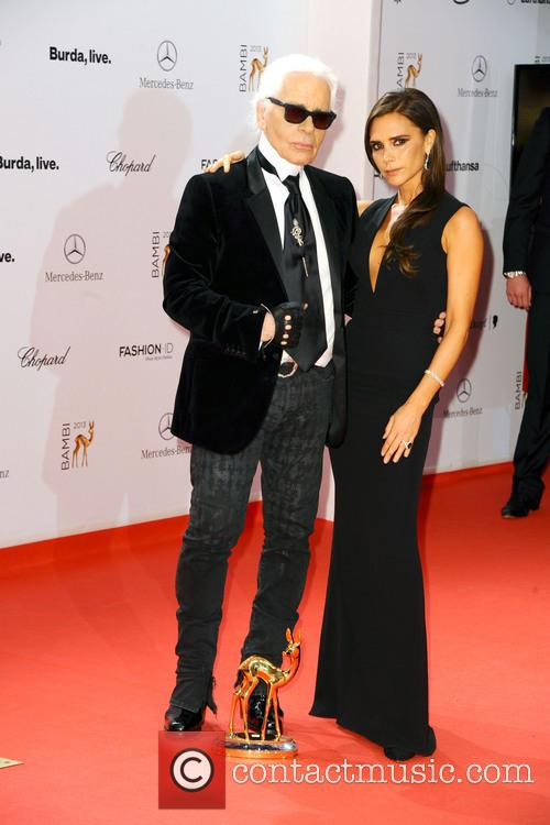 Karl Lagerfeld and Victoria Beckham 10