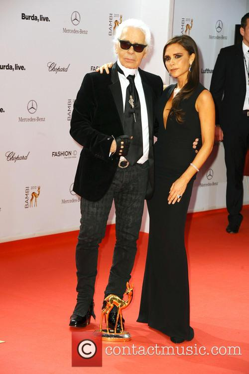 Karl Lagerfeld and Victoria Beckham 11