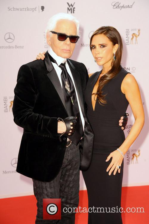 Karl Lagerfeld and Victoria Beckham 12