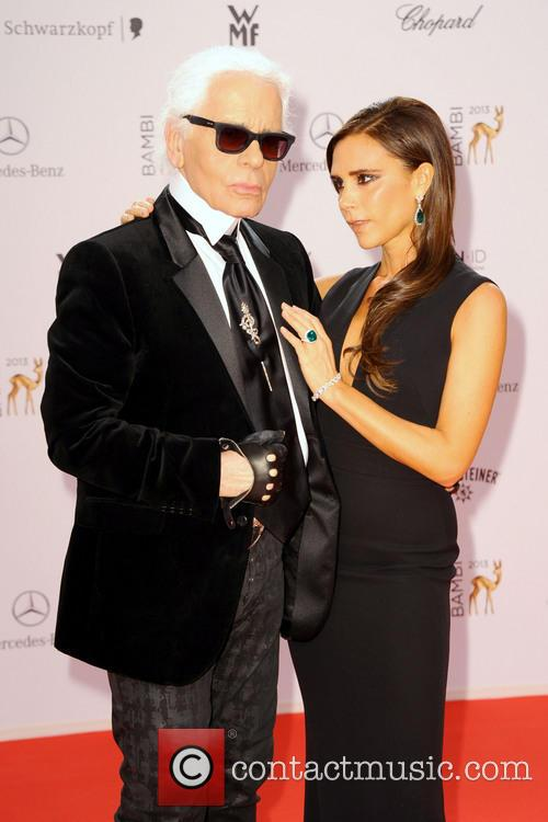 Karl Lagerfeld and Victoria Beckham 13