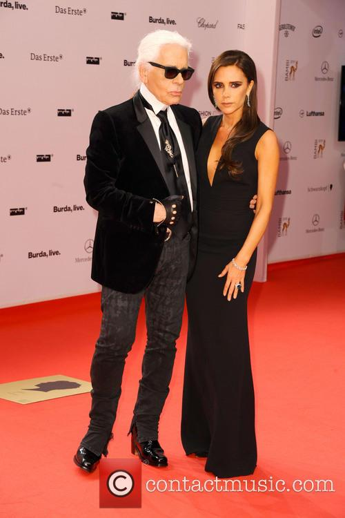 Karl Lagerfeld and Victoria Beckham 14