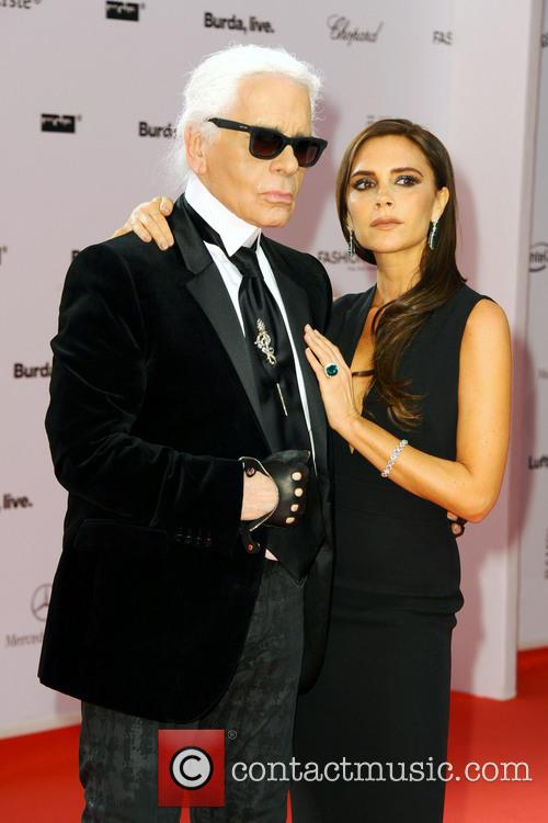 Karl Lagerfeld and Victoria Beckham 16
