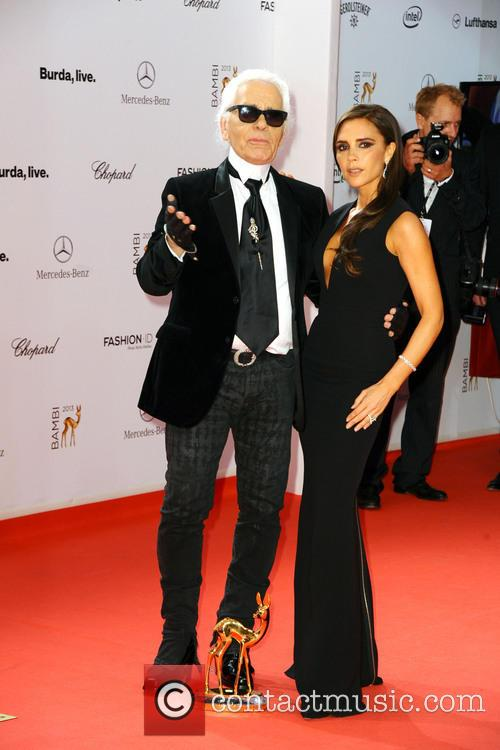 Karl Lagerfeld and Victoria Beckham 17