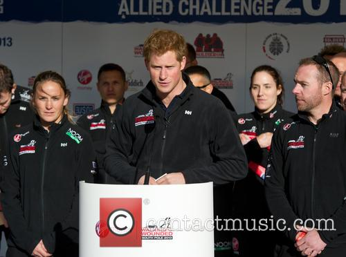 prince harry walking with the wounded south 3953120