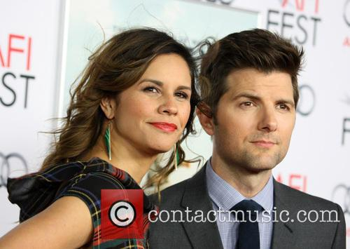 Adam Scott and Naomi Sablan 2