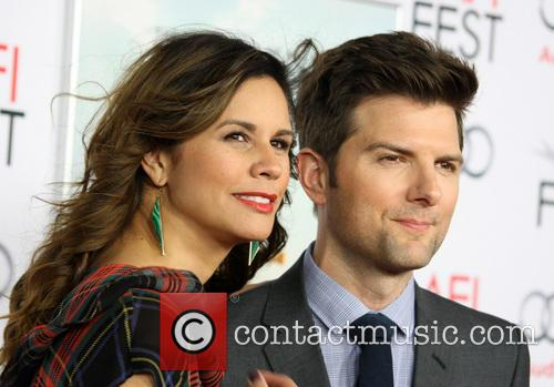 Adam Scott and Naomi Sablan 6