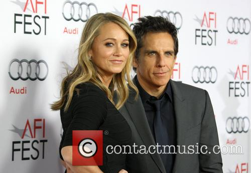 Christine Taylor and Ben Stiller 2