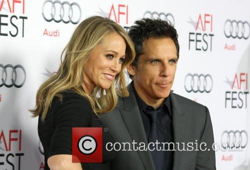 Christine Taylor and Ben Stiller 7