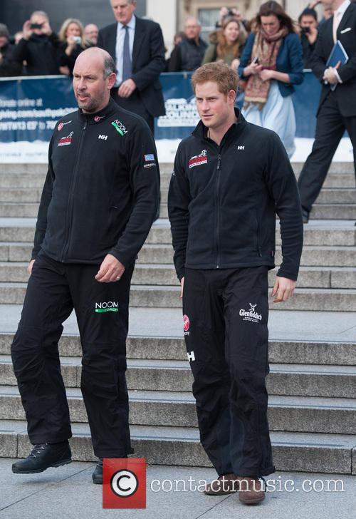 prince harry walking with the wounded  3952902