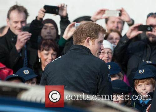 prince harry walking with the wounded  3953038