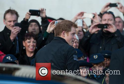 prince harry walking with the wounded  3953039