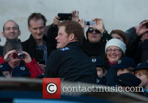 prince harry walking with the wounded  3953041