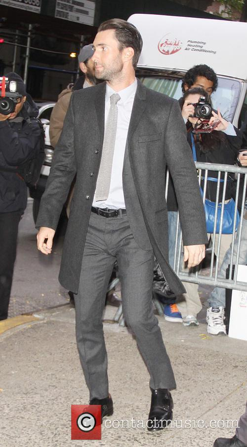 Adam Levine at Live with Kelly and Michael NY