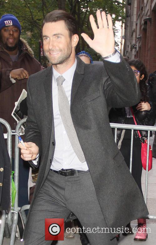 Adam Levine, New York