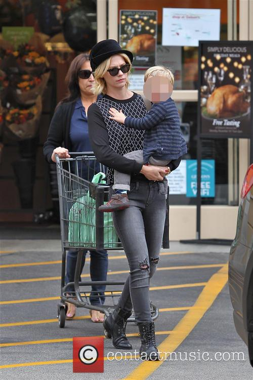 January Jones and Xander Jones 1