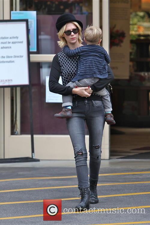 January Jones and Xander Jones 30