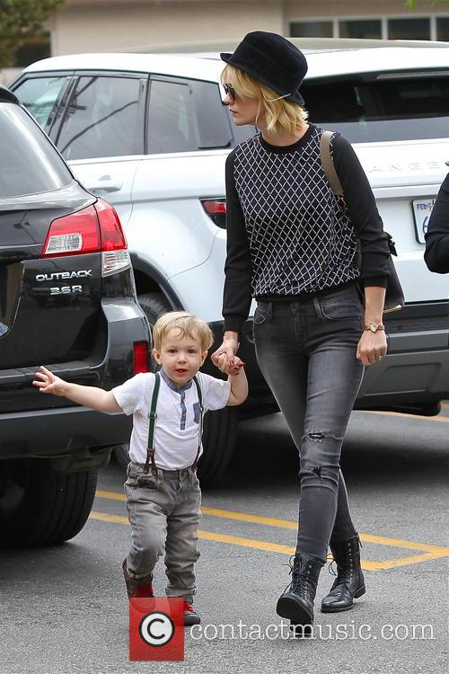 January Jones and Xander Jones 45