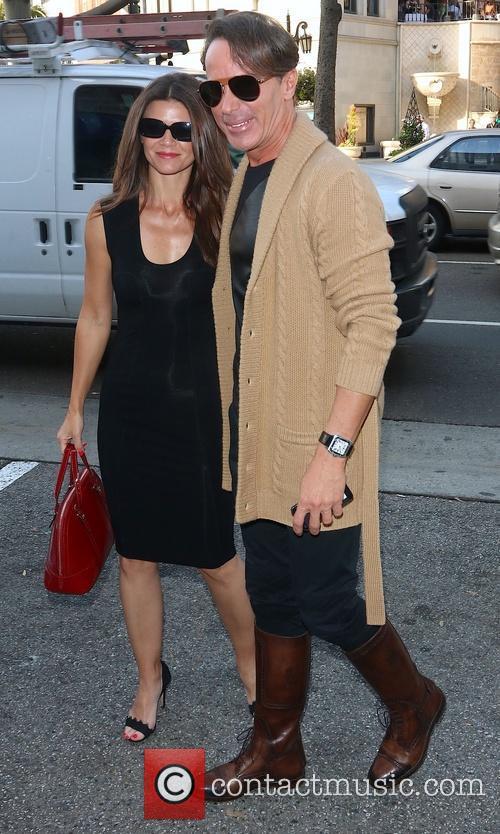 Danielle Vasinova and Lloyd Klein arrive at The...