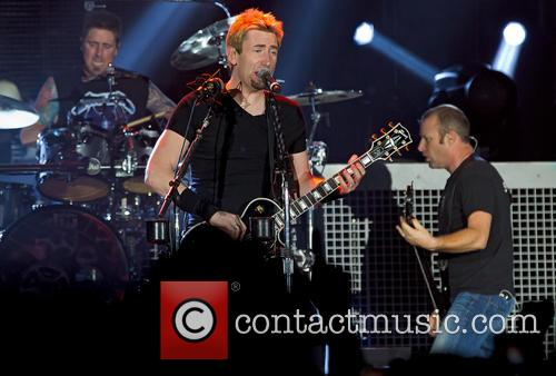 Daniel Adair, Chad Kroeger, Mike Kroeger and Nickelback 3