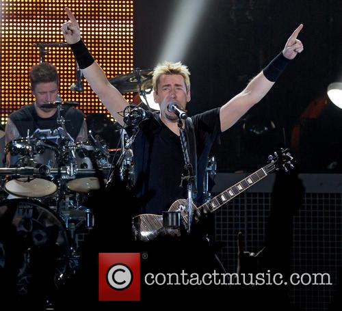 daniel adair chad kroeger nickelback nickelback perform live 3956453