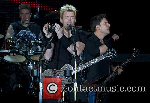 Daniel Adair, Chad Kroeger, Ryan Peake and Nickelback 7