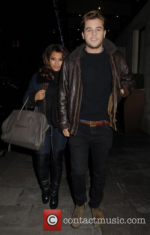 Vanessa White - Vanessa White Leaving The May Fair Hotel ...