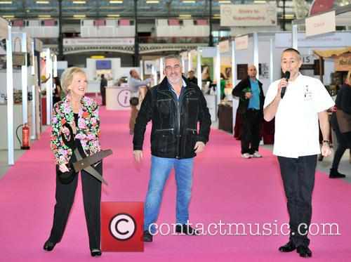 Mary Berry, Paul Hollywood and Michel Roux 2