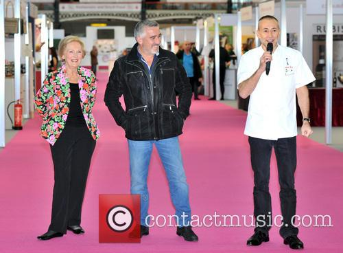 Mary Berry, Paul Hollywood and Michel Roux 7