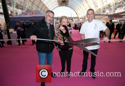 Paul Hollywood, Mary Berry and Michel Roux 3