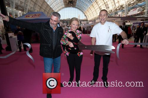 Paul Hollywood, Mary Berry and Michel Roux 4