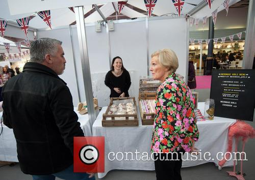 mary berry bbc good food show opening 3955012
