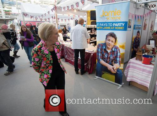 mary berry bbc good food show opening 3955022