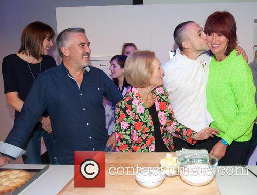 Mary Berry, Paul Hollywood, Janet Street-porter, Michel Roux, Natalie Coleman and Frances Quinn 11