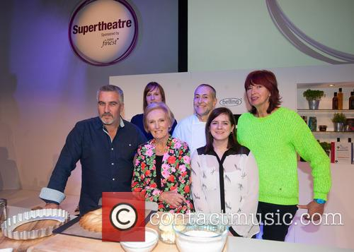 Mary Berry, Paul Hollywood, Janet Street-Porter, Michel Roux, Natalie Coleman and Frances Quinn 2