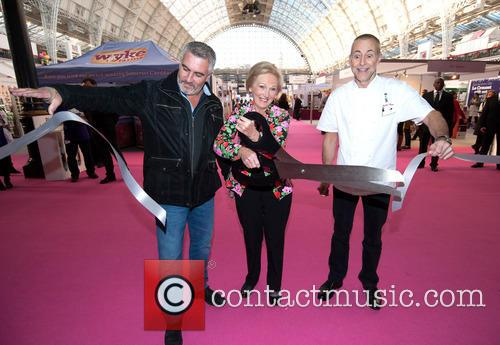 Paul Hollywood, Mary Berry and Michel Roux 1