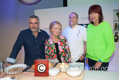 Paul Hollywood, Mary Berry, Michel Roux and Janet Street-Porter 2