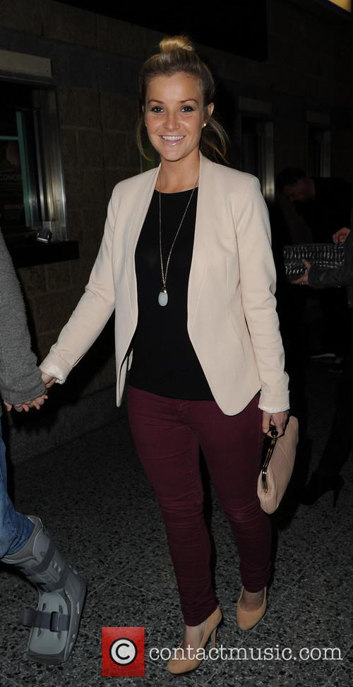 Coleen Rooney Stereophonics arrivals Manchester.