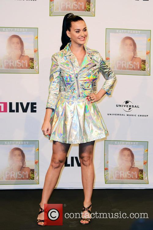 Katy Perry Visits Radio 1LIVE, Cologne