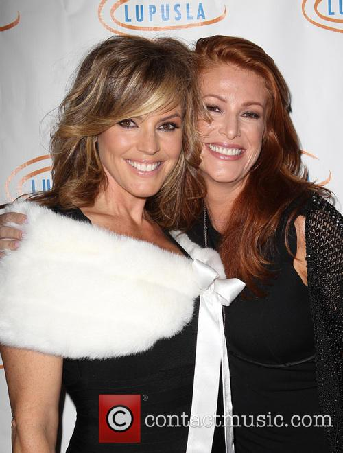Sandra Taylor and Angie Everhart 4