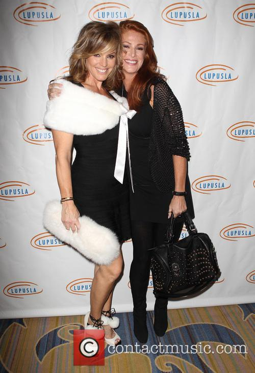 Sandra Taylor and Angie Everhart 1