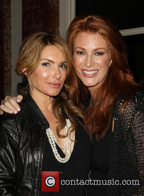 Eden Sassoon and Angie Everhart