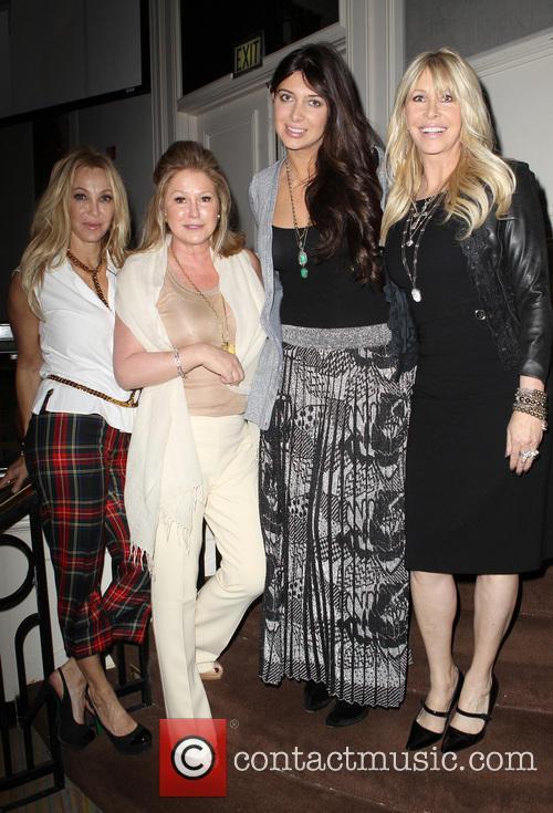 Lisa Pliner, Kathy Hilton, Brittny Gastineau and Lisa Gastineau 2