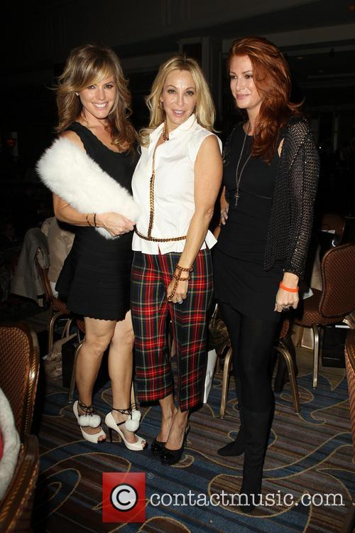 Sandra Taylor, Lisa Pliner and Angie Everhart 2