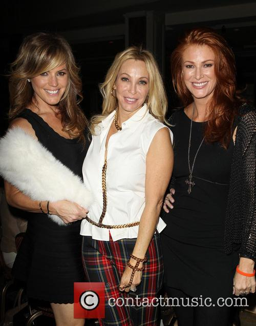 Sandra Taylor, Lisa Pliner and Angie Everhart 4
