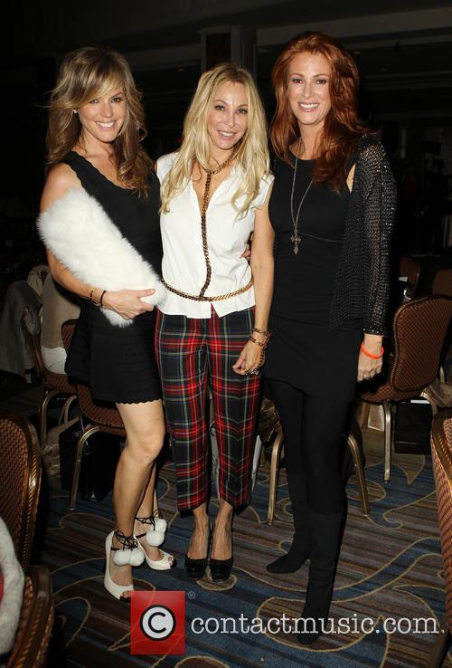 Sandra Taylor, Lisa Pliner and Angie Everhart 5